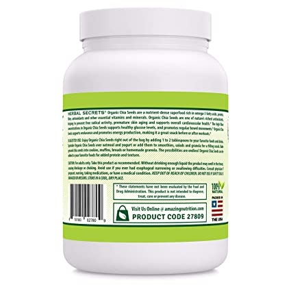 Amazon.com: Herbal Secrets Premium calidad orgánica semillas ...