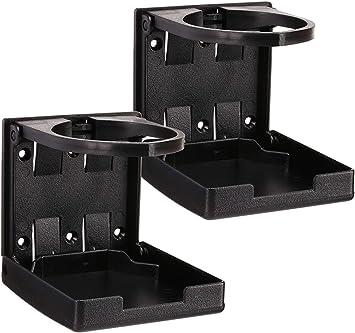 Portable Folding Adjustable Drink Cup Holder Bracket for Boat//Truck//RV