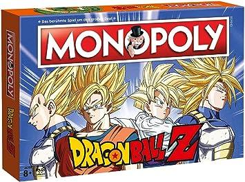 Winning Moves Dragonball Monopoly Dragon Ball Z-Juego de Mesa ...