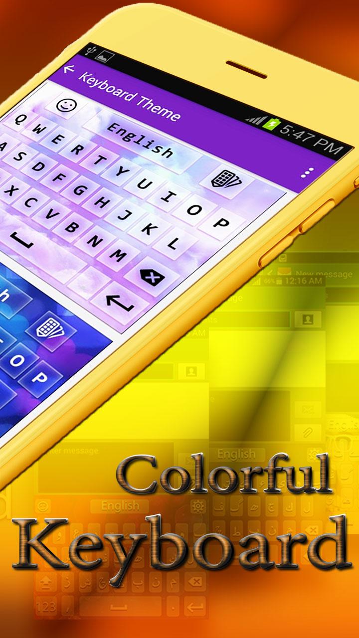 Teclado en urdu inglés con emoji