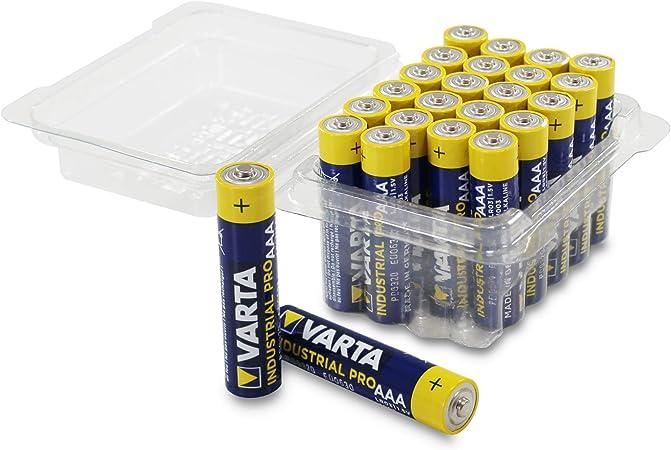 Varta Industrial Batterie Aaa Micro Alkaline Batterien Elektronik