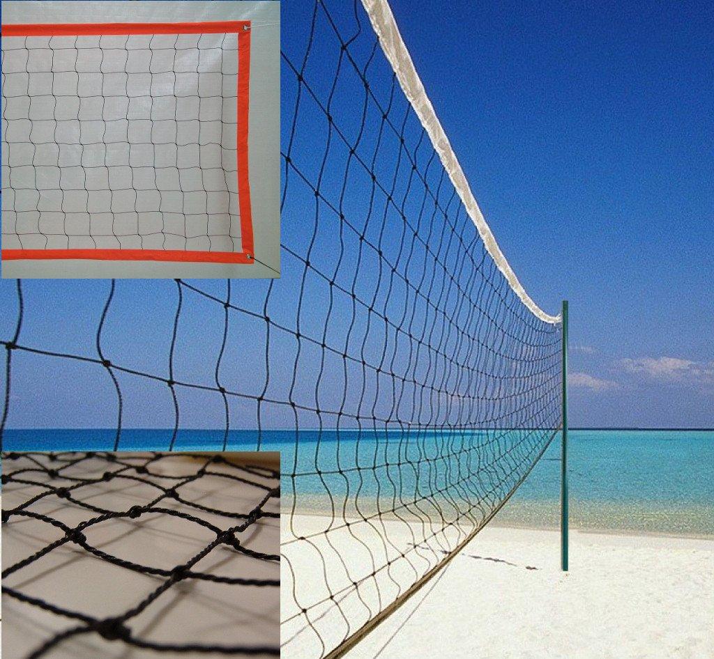 Red de voley playa modelo polietileno con cinta perimetral Redes Deportivas On Line