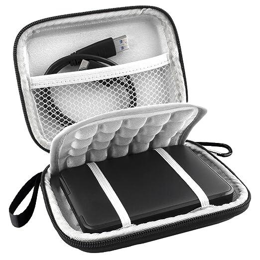 4 opinioni per Lacdo (TM)-Cover antiurto impermeabile EVA Custodia a borsa per disco rigido