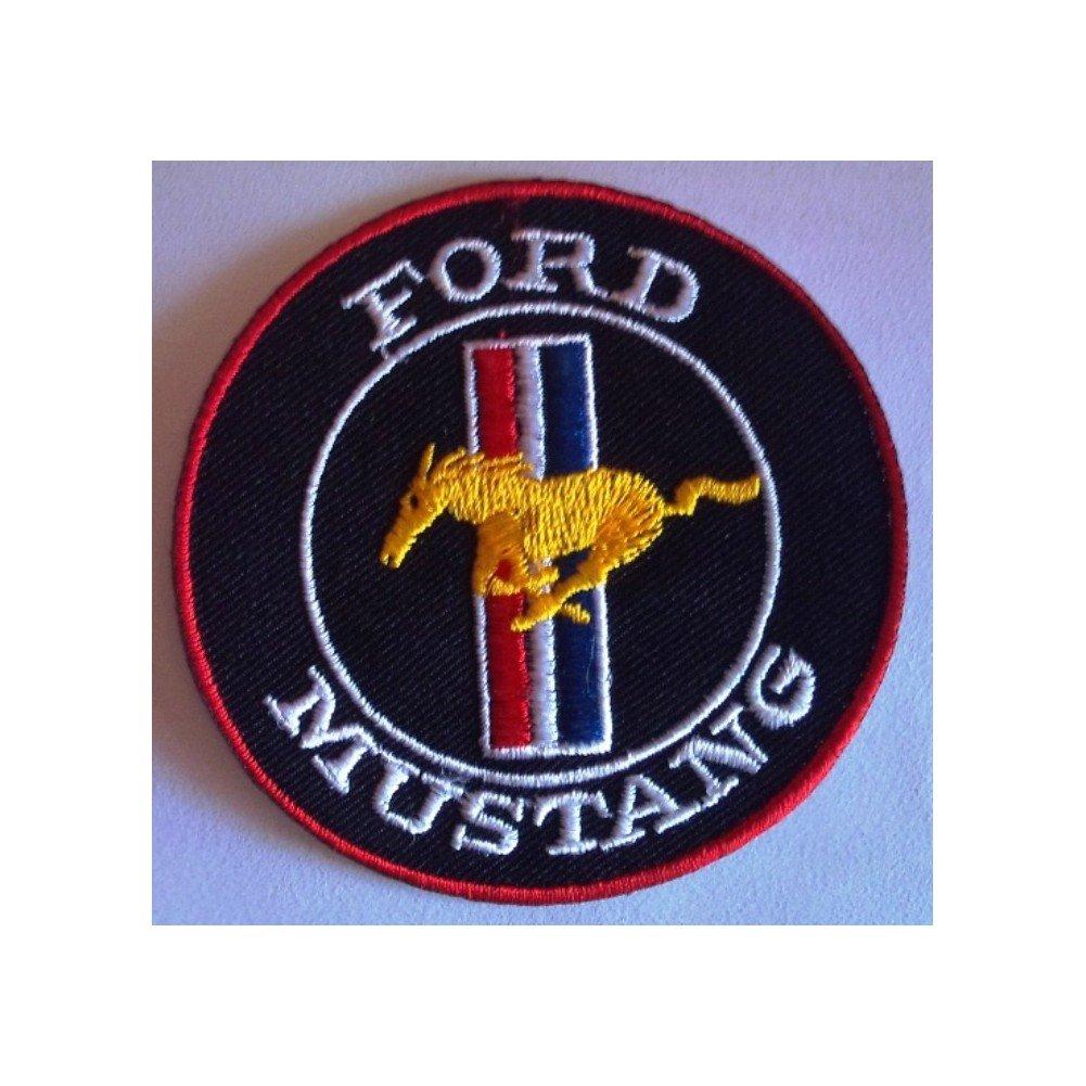 Sconosciuto –  Patch Ford Mustang rotondo Stemma termoadesivo auto inconnu