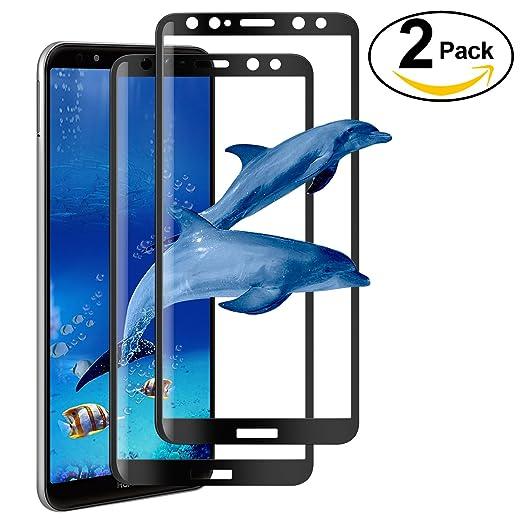 2 opinioni per [2 Pezzi] Vetro Temperato Huawei Mate 10 Lite Pellicola Protettiva, AROYI