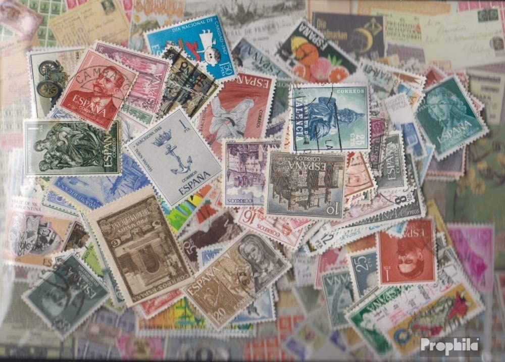Prophila Collection España 200 Diferentes Sellos Especiales y Gran Formato (Sellos para los coleccionistas): Amazon.es: Juguetes y juegos