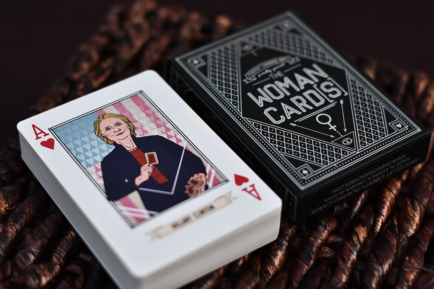 The Woman Cards Liberty Playing Cards