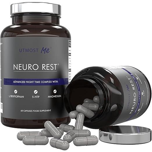 34 opinioni per Sonniferi con 5 HTP- Più Fonti di Melatonina Naturale | L-Triptofano, Magnesio,