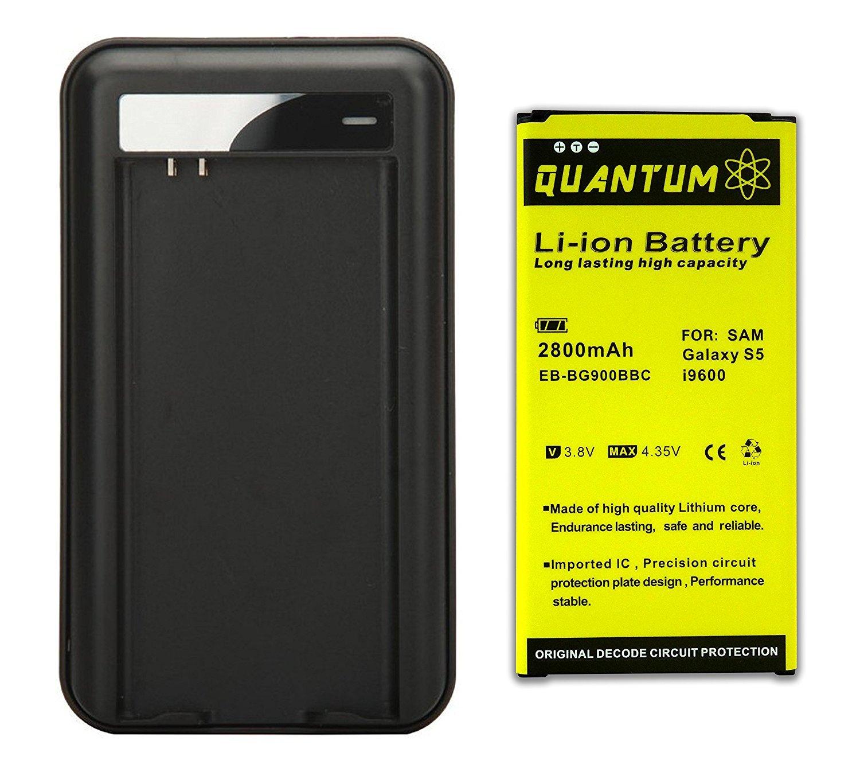 Amazon.com: Batería Quantum para Samsung Galaxy S5 + ...
