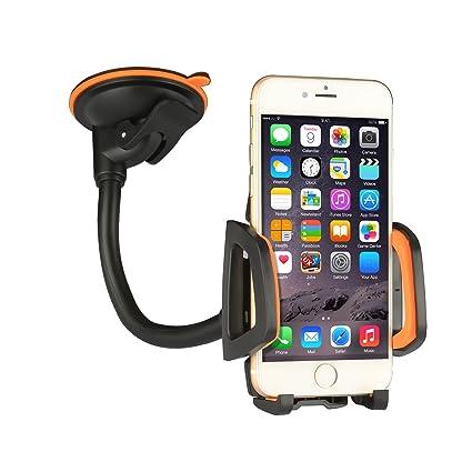 Amazon.com: Car Mount Car Holder Universal Flexible 360 Rotating ...