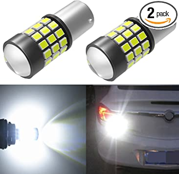 Brake Stop Tail Light 1157 7528 P21//5W BAY15D Amber 33 SMD LED BULB For Benz