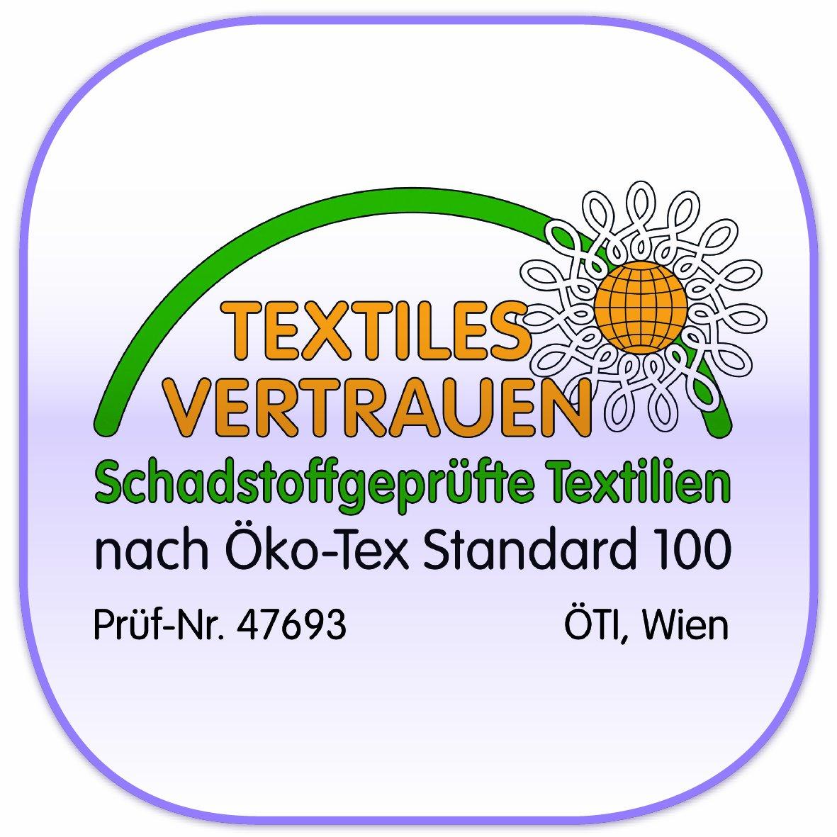 Tr/äumeland Babymatratze Softwash 50 x 100 cm Softschaummatratze mit Baumwollbezug eckig Allergikergeeignet