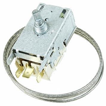 Spares2go 077b6697 K59) l1922 tipo Control de temperatura termostato Kit para frigoríficos-congeladores Siemens
