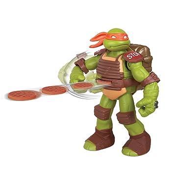Turtles Teenage Mutant Ninja Flingerz - Figura de Michaelangelo [Importado]
