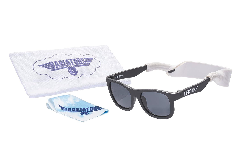 Babiators Gift Set UV Protection Children's Sunglasses & Accessories Pack, Black Navigator, 0-2 Years