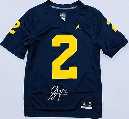 san francisco 212b1 1e321 Shea Patterson #2 Autographed Signed Memorabilia Michigan ...
