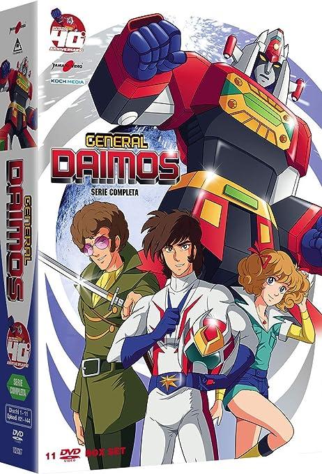General Daimos - Serie Completa (11 Dvd) [Italia]: Amazon.es: Tadao Nagahama: Cine y Series TV