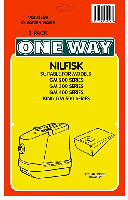10 x GM Dust Bags for Nilfisk King Home King Hygienic King Special Vacuum