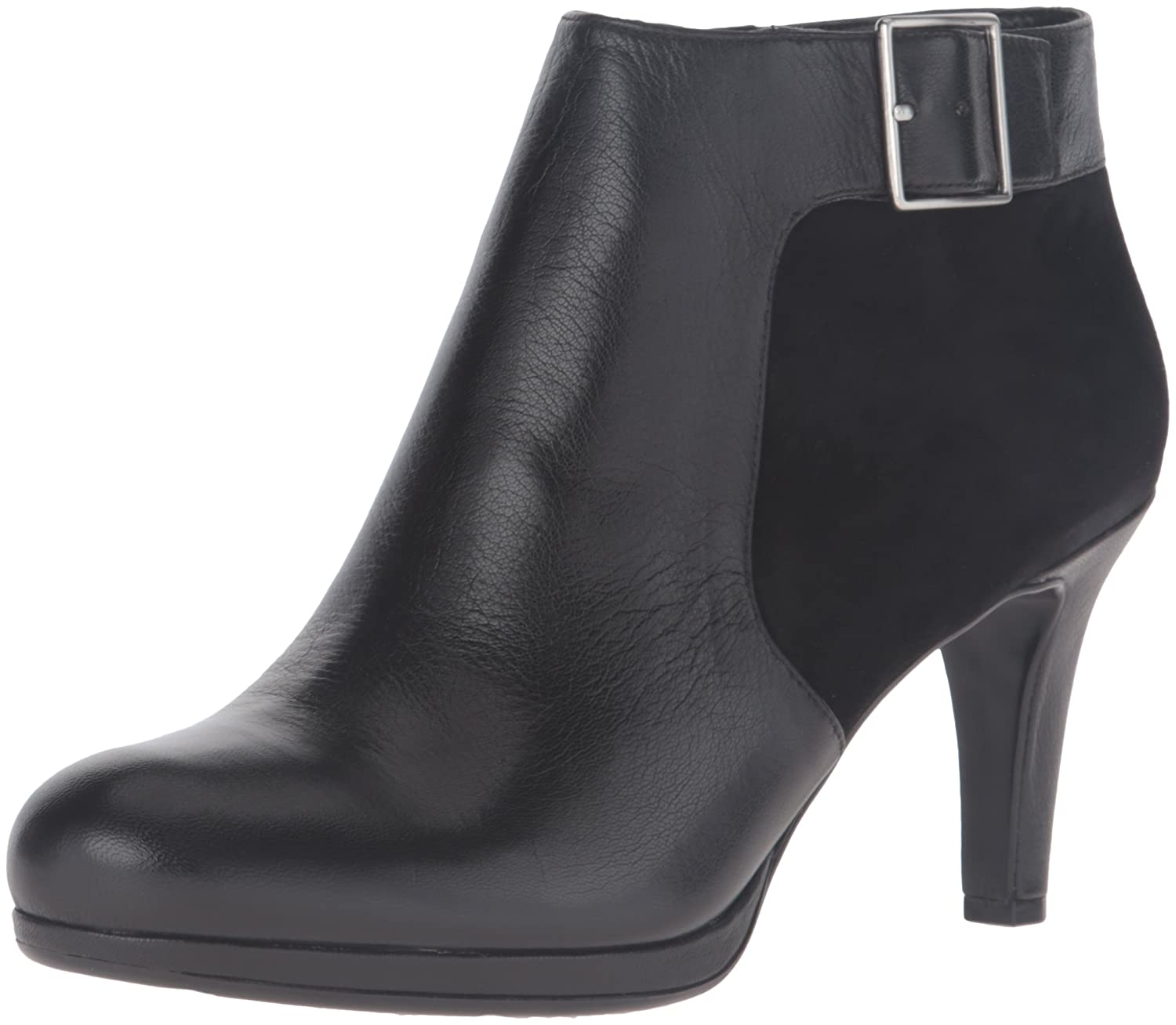 Naturalizer Women's Maureen Ankle Bootie B00UVAH7V4 10 B(M) US|Black