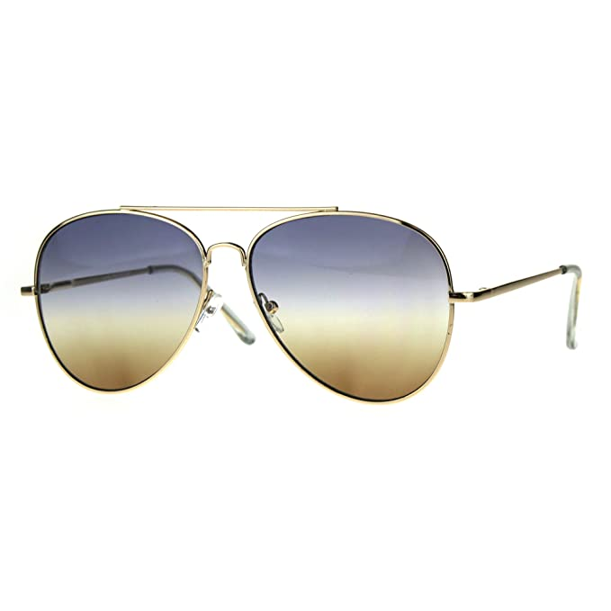Amazon.com: Oro Aviator Bisagra de Resorte anteojos de sol ...