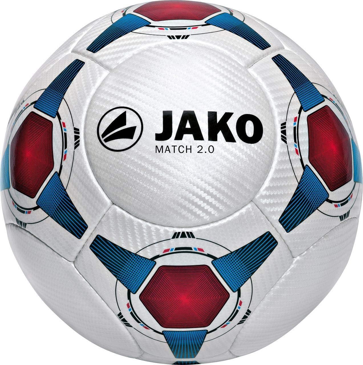 JAKO Fußball Ball Match 2.0 - Balón de fútbol de competición ...