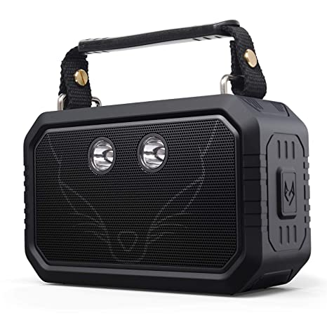 DOSS Wireless Portable Bluetooth Speakers with Waterproof IPX6, 20W Stereo  Sound and Bold Bass, 12H Playtime, Durable for Phone,Tablet, TV, Gift