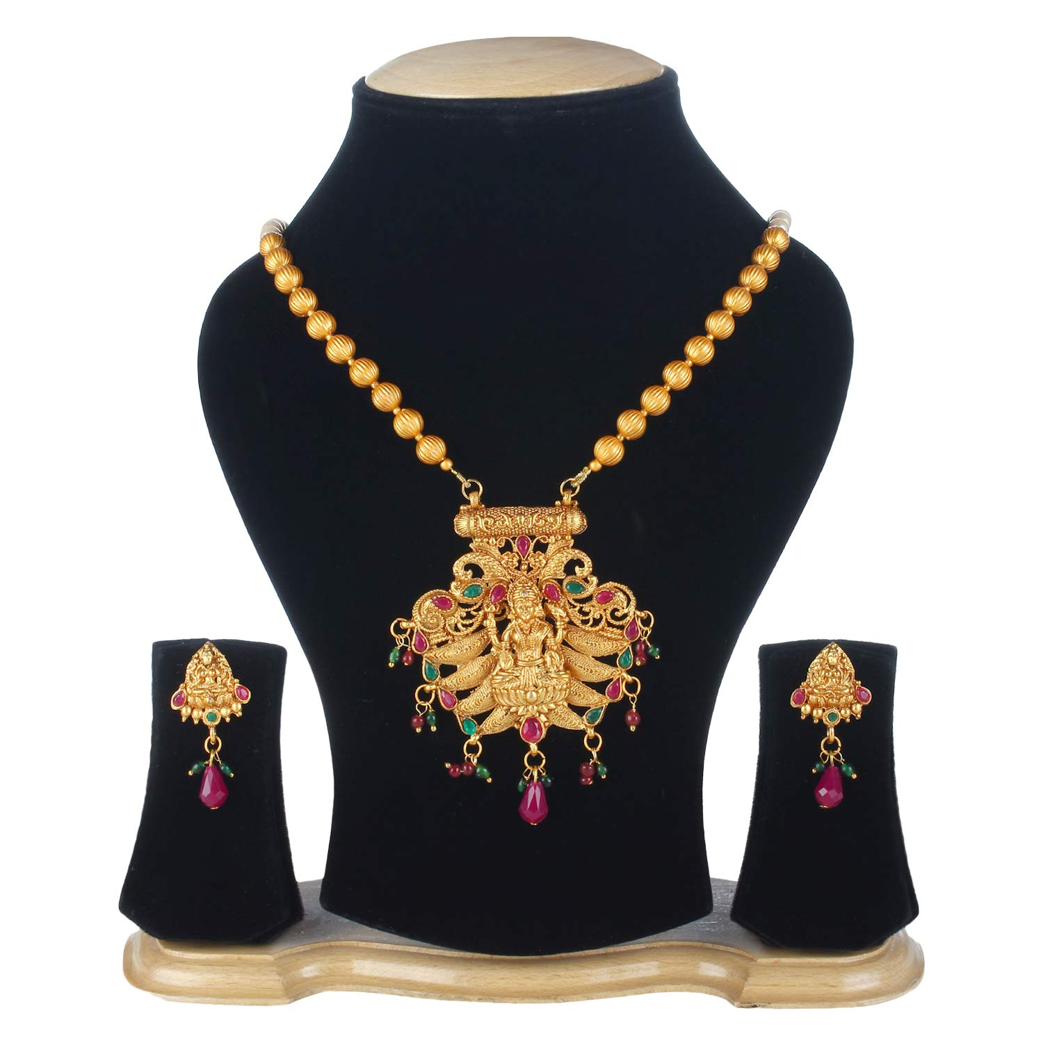 Buy Jewels Gold Alloy Fashion Designer Beautiful Necklace Long