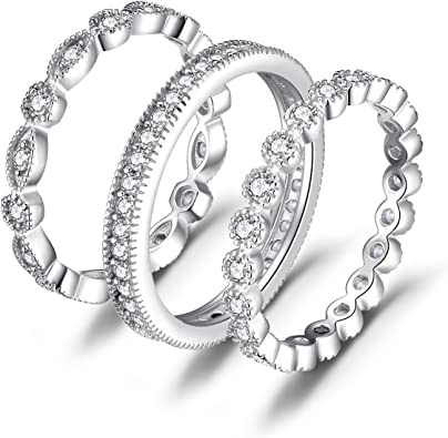 Amazon Com Jewelrypalace Wedding Bands Wedding Rings For Women