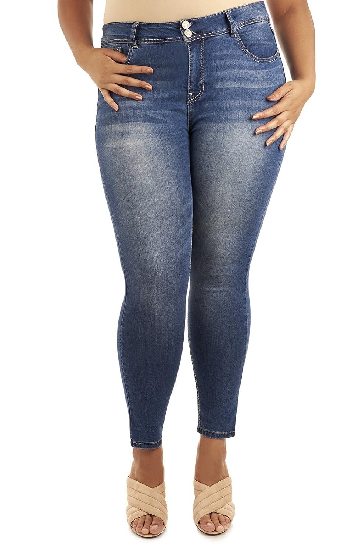 Angels Jeans PANTS レディース B0753L9238  パシフィック(Pacific) 24 Plus
