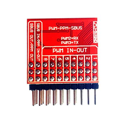 QWinOut 8CH Receiver PWM to PPM Sbus Dbus S-Bus Encoder Signal Converter  Module for RC DJI Phantom 2 Xaircraft Minix Superx V2