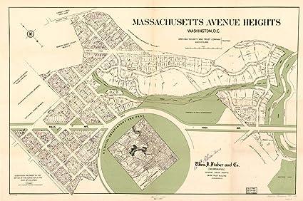 Amazon Com Historic Prints Hp 16 X 24 1910 Map Of Sanborn Fire