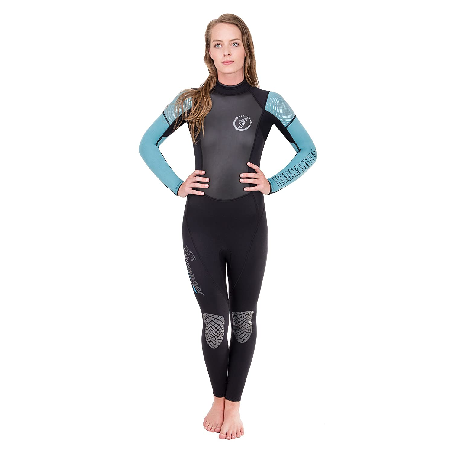 9c7c19d3f0 Amazon.com   Seavenger Odyssey 3mm Neoprene Wetsuit with Stretch Panels for  Snorkeling