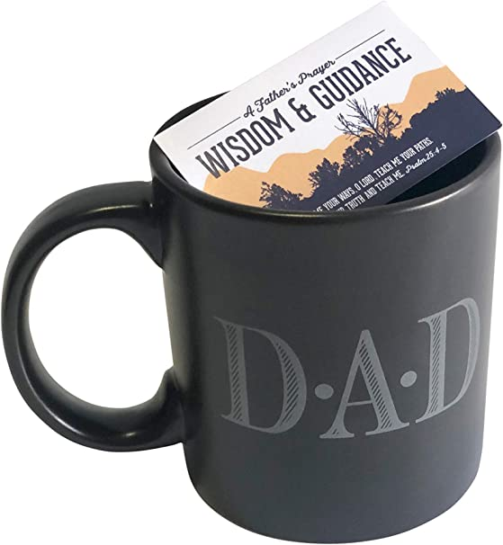 Dad Mug Gifts For Father S Day And Birthday 12 Oz Dad Ceramic Coffee Cup And A Father S Prayer Card Kitchen Dining