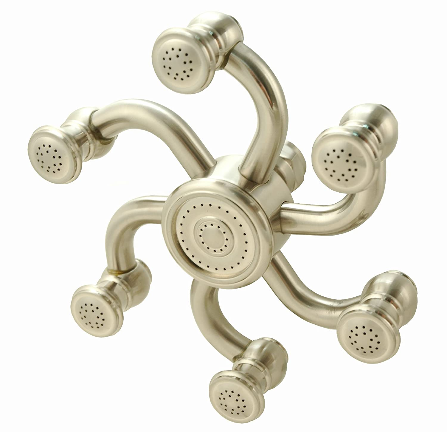 Octopus Shower Head - Brushed Nickel Finish - Fixed Showerheads ...