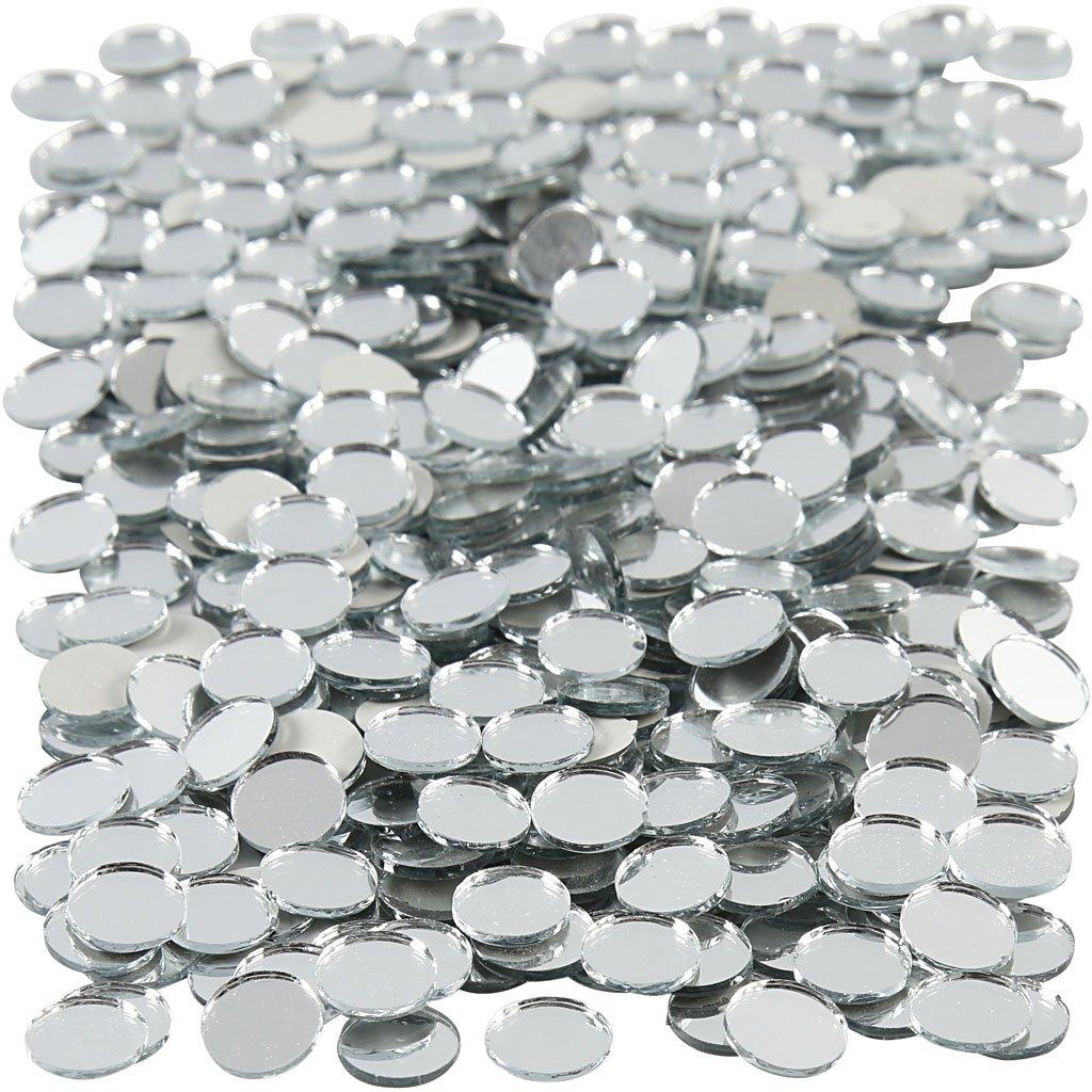 Spiegelmosaik D: 10 mm 500Stck. Stärke: 2 mm rund