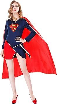 Disfraz de Halloween para adultos Capa Sexy Traje de Superman ...