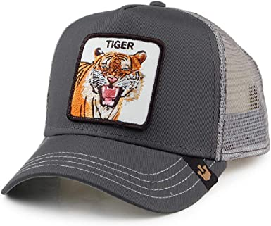 Goorin Brothers Gorra Trucker Eye of The Tiger Gris - Ajustable ...