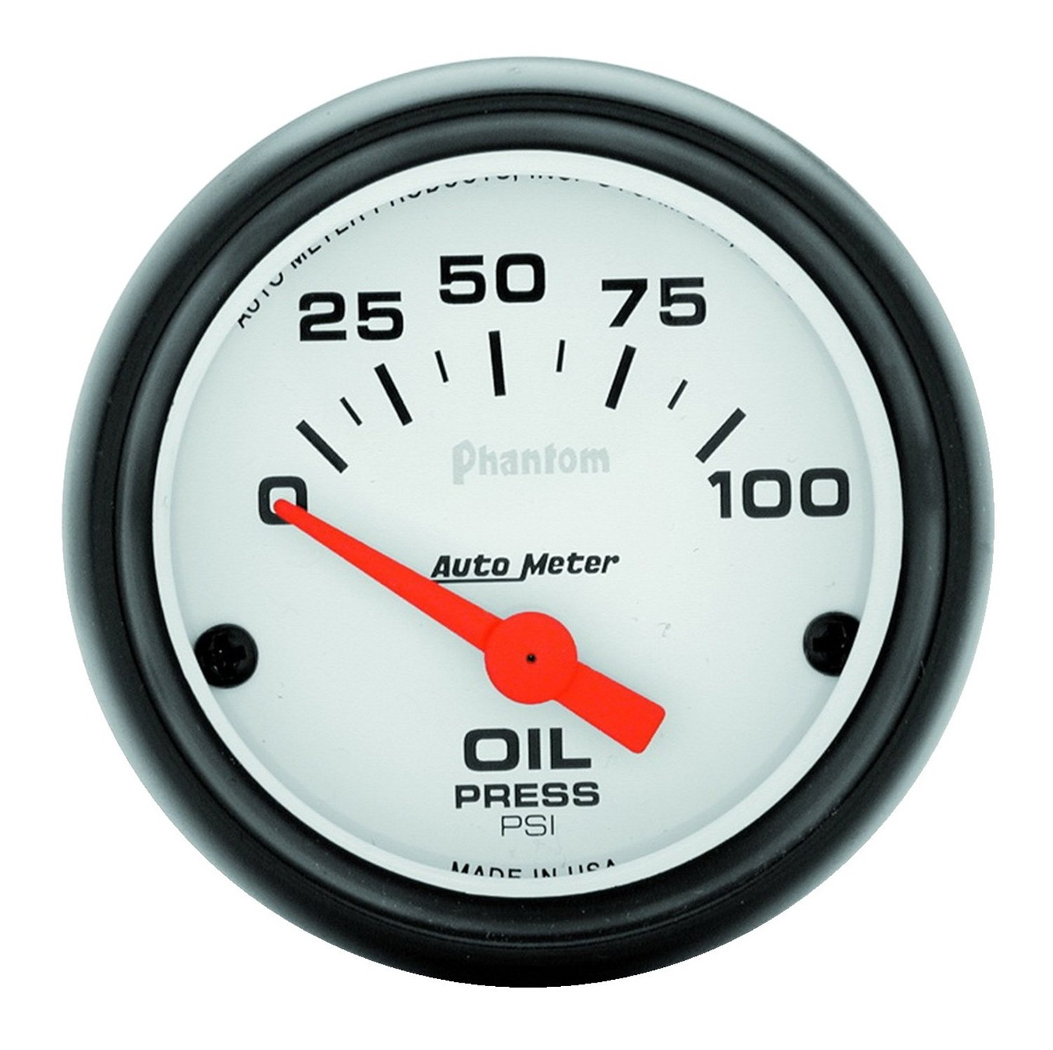 Auto Meter 5727 Phantom 2 1/16in Oil Pressure 0-100 PSI Elec ...
