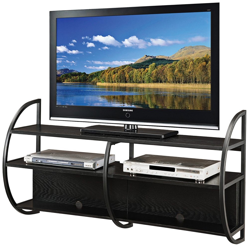 Amazon Com Leick Home Floating Wall Mounted Tv Stand Slate Finish