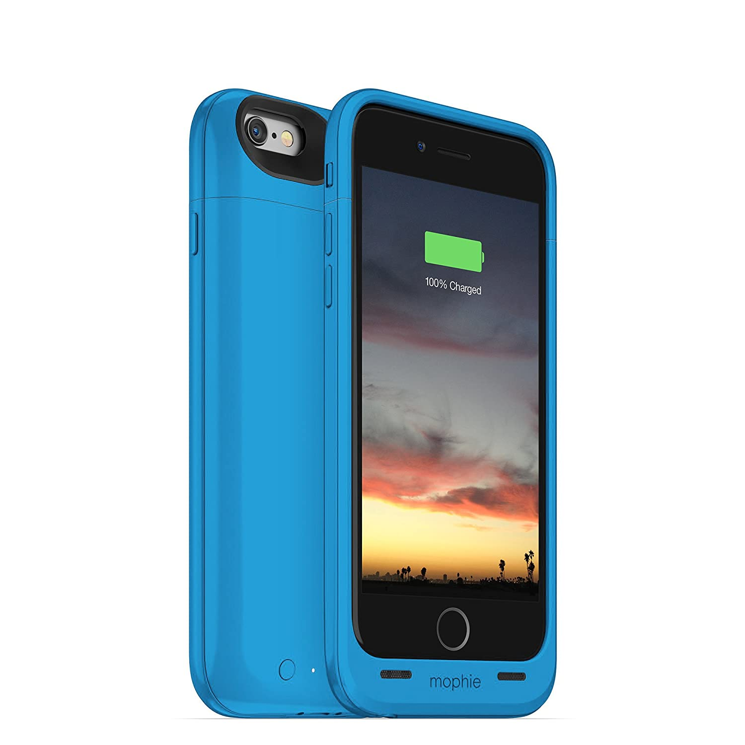 size 40 14ecf 77c48 mophie juice pack air - Slim Protective Mobile Battery Pack Case for iPhone  6/6s - Blue