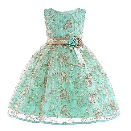 Vestido para niña, vestido de fiesta de cumpleaños, vestido ...
