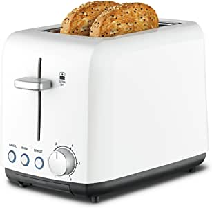 Kambrook Wide Slot Toaster, 2-Slice, White KTA120WHT