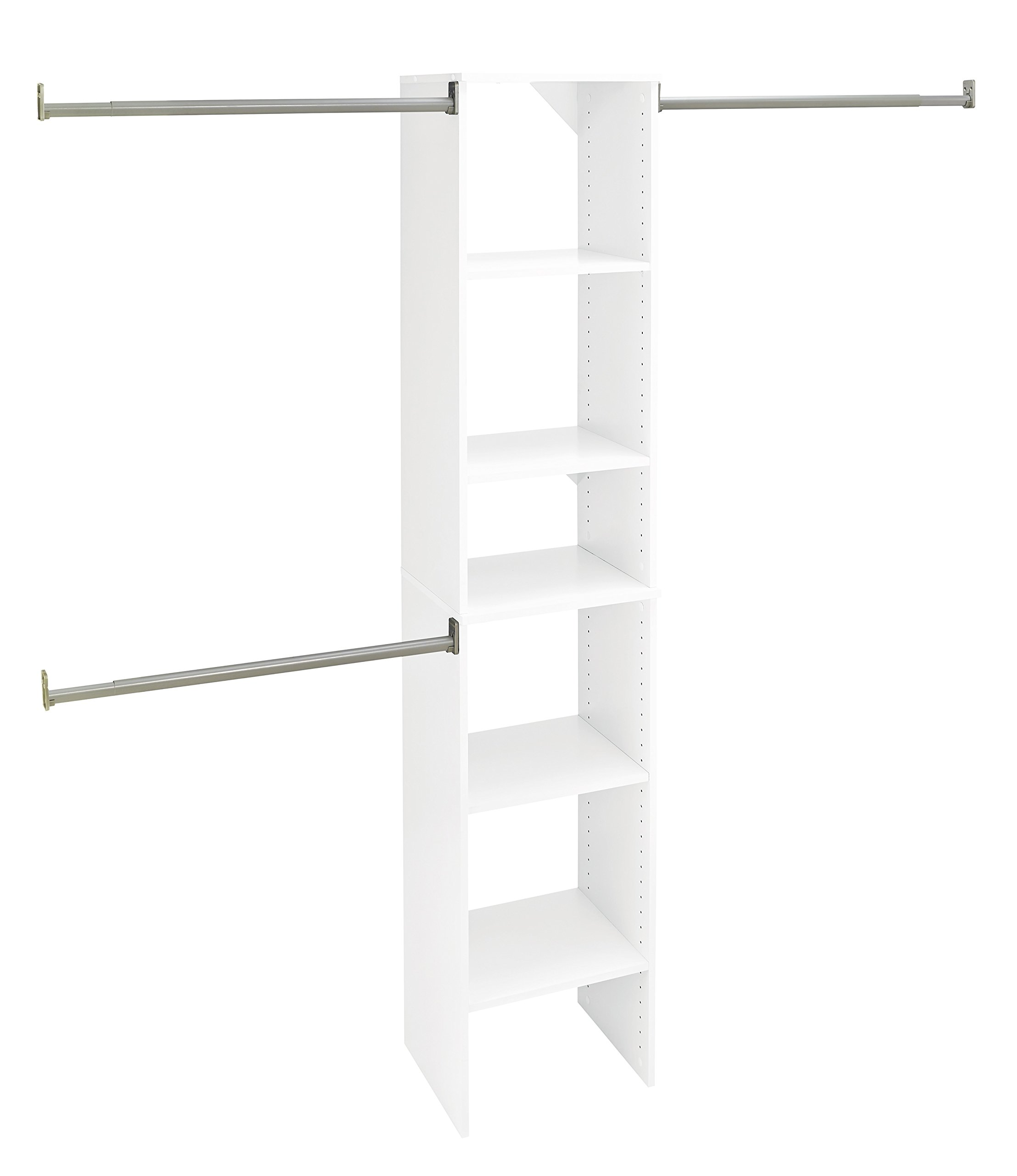 ClosetMaid 4868 SuiteSymphony 16-Inch Starter Tower Kit, Pure White by ClosetMaid (Image #1)
