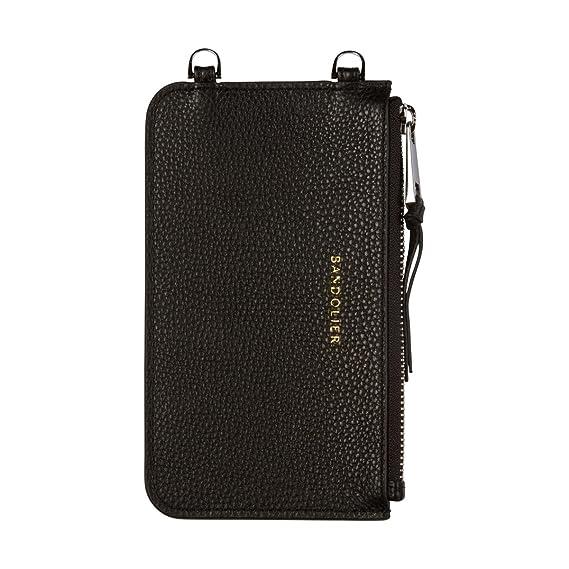 9ed3cfbdacf1c6 Amazon.com  Bandolier  Emma  Leather Pouch - Black with Silver ...