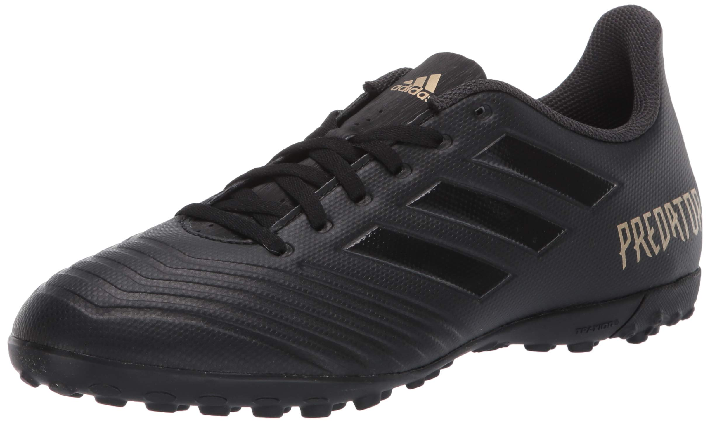 adidas Men's Predator 19.4 Turf Soccer Shoe Utility Black, 10.5 M US by adidas
