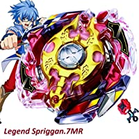 Urcara Bey Burst Evolution Gyro Battling Top B-86 Beyblade Burst Legend Spriggan.7MR Starter Booster with Launcher Spinning Top