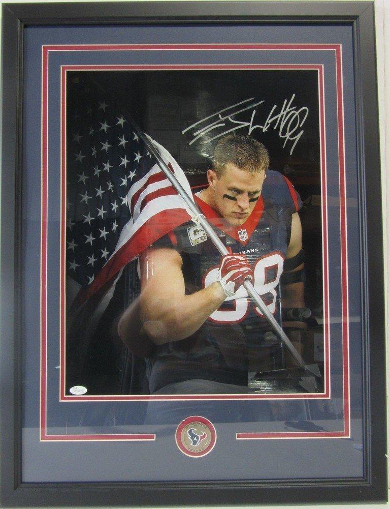Jj Watt Autographed Signed Houston Texans Framed 16X20 Photo - JSA Authentic  at Amazon s Sports Collectibles Store 0d7d1da23