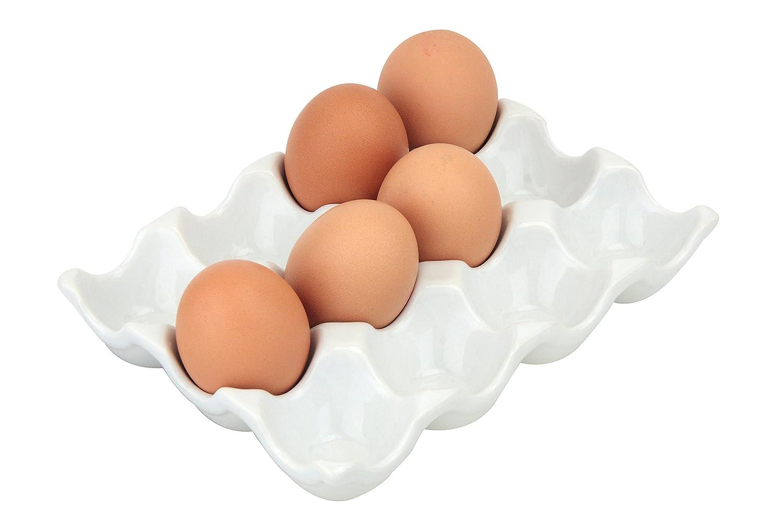 Kühlschrank Eierhalter 10 : Apollo vinci porzellan eierhalter amazon küche haushalt