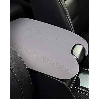 ISSYAUTO Center Console Cover for 2008-2012 Honda Accord Armrest Cover Replacement, Gray: Automotive