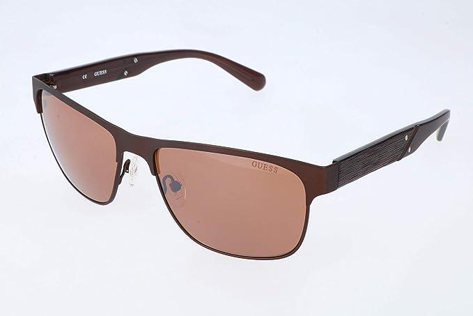 Guess Gafas de sol, Marrón (Brown), 59.0 para Hombre: Amazon ...